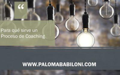 Para qué sirve un Proceso de Coaching